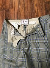 Abercrombie Fitch A&F vintage wool mens pants slacks dress 30 x 32 RARE NEW $98