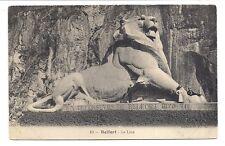 belfort , le lion .-.