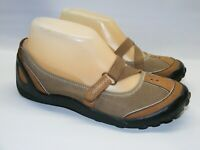 Privo by Clarks Women Mary Jane Loafers Shoes Size 6M Brown Leather Casual Shoes