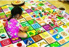 KIDS CRAWLING 2 SIDE SOFT FOAM EDUCATIONAL GAME PLAY MAT PICNIC CARPET XMAS GIFT