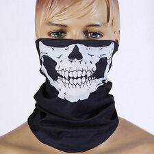 Multi Function Halloween Skull Skeleton Party Masks Black Headwear