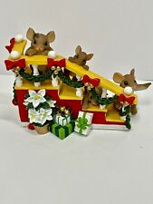 """Charming Tails """"One Step Closer To Christmas"""" #87/201, 2009. Used. No Box/Paper"""