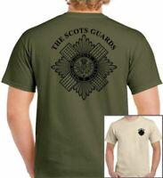 SCOTS GUARDS T-Shirt British Army Forces Unisex TEE TOP Cap Badge Beret