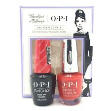 OPI Gelcolor Soak-off & NL Breakfast at Tiffany's - THE PERFECT PAIR