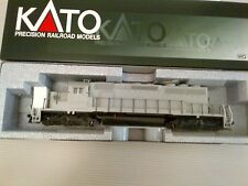 Kato 376610 HO Scale Mid SD40-2 Undecorated C-10 Mint - Brand New