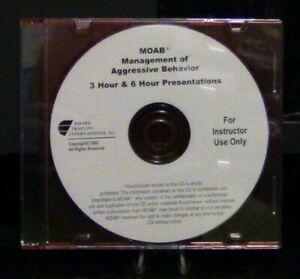 Management of Agressive Behavior 3 HR & 6 HR Presentations CD For Instructors