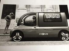 RARE PHOTO DOSSIER DE PRESSE CONCEPT CAR RENAULT MODUS TAXI