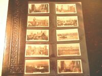 1925 Westminster BRITISH ROYAL ANCIENT BUILDINGS set  cards Tobacco Cigarette