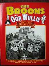 THE BROONS / OOR WULLIE ANNUAL NATIONS FAVOURITES CELEBRITY FANS H BACK DJ V G C