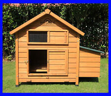 SAVOY SINGLE LARGE DELUXE CHICKEN COOP HEN POULTRY HOUSE RABBIT HUTCH NEST