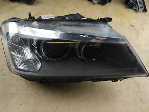 BMW X3 F25 xDrive20d (11'-17') COMPLETE RIGHT DRIVER BI XENON HEADLIGHT 7217300