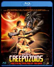 Creepozoids Blu-ray 1987 80s Horror Sci-Fi Movie Retro Full Moon Region Free New