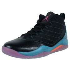 NIKE AIR JORDAN VELOCITY BASKETBALL SHOES BLACK FUSION PINK TEAL 688975 025
