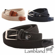 Canvas Medium Width Belts for Women
