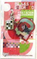 Gundam 00 Patrick Colasour fastener Accessory October Metal Charm Anime MINT
