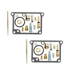 2PCS Carburetor Carb Rebuild Kit Repair Tool Fit For Yamaha Banshee YFZ350