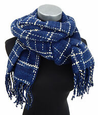 Women's Scarf Blue Beige Ella Jonte Scarf Soft Warming Autumn Winter New Arrival