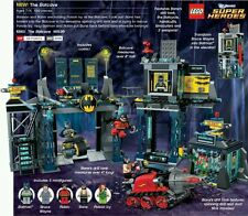 LEGO DC SUPER HEROES BATMAN 6860 - The Batcave - RARE COLLECTOR - PICK UP ONLY