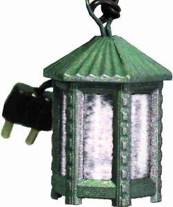 Accessoires de Crèche Éclairage Lanterne Métallique avec Lumière Blanc Hauteur