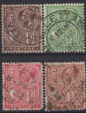 e531) Malta. 1926/27. Used. SG 157 to 160. Royalty.