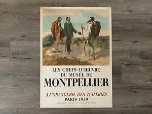 1939 Bonjour, Monsieur by Gustave Courbet A L'orangeie Des Tuileries PARIS