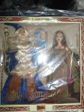 Merlin and Morgan LeFay Barbie Doll Giftset NRFB MIB