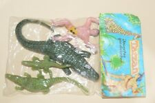 VERY RARE TOY MEXICAN FIGURE BOOTLEG TARZAN AGAINST THE COCODRILS 60´S