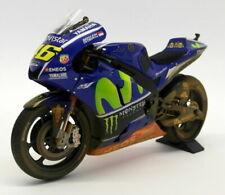 Motos miniatures verts Yamaha