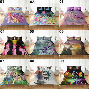 My Little Pony Single Double King Super King Size Bed Duvet Quilt Cover Set