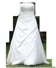 Hochzeitskleid/Brautkleid, A-Linie, Größe 38, mit Schleier+Unterrock, neuwertig