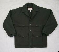 NWOT Filson Wool Green Double Mackinaw Cruiser Mens Size 42