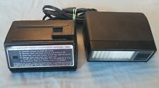 Vintage Polaroid Model 363 Fast Charger And Electronic Flash 365