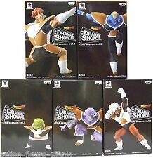 Banpresto DRAGONBALL DRAMATIC SHOWCASE GINYU FORCE SQUADRA GINEW 5 FIGURE
