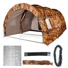 8-10 People Camping Tent Waterproof Portable Travel Tunnel +Damp proof floor mat