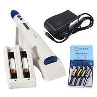 Dental Endodontic Cordless Obturation Gutta Percha Pen & Heat Tips CV-Fill