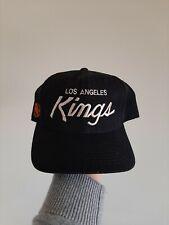 Vintage Los Angeles Kings Sports Specialties Wool Snapback