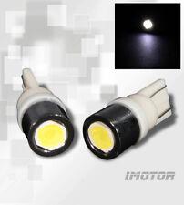 2x White 168/194/2825/T10 LED Rear License Plate Light/City Light/Side Marker