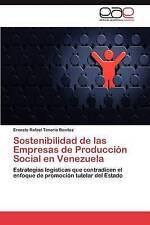 Sostenibilidad de las Empresas de Producción Social en Venezuela: Estrategias lo