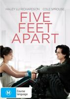 Five Feet Apart (DVD, 2019) NEW
