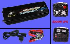 New 3000 watt 6000W(peak) 12v to 110v 60HZ Power Inverter + Charger & UPS fit US