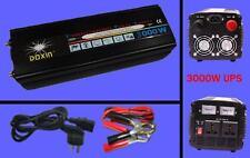 NEW 3000watt 6000W(peak) 12v to 220v 240V Power Inverter + Charger & UPS