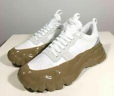 Brand-new Men's Valentino Garavani White/Brown Rockrunner Plus Sneakers in US11