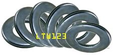 (100) 3/8 SAE Flat Washer Zinc Plated