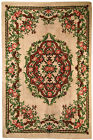 Vintage Belgian Savonnerie rug 6.5' x 9.8' ( 199cm x 299cm ) 1960s - 1C270