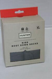 HUNTER Original Kids Boot Down Socks Size XL