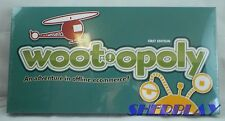 ❀ WOOT 2012 ORIGINAL 1st EDITION MONOPOLY BOARD GAME WOOT-OPOLY NIP ❀