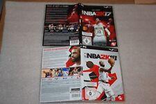 NBA 2K17 PC BOX & NBA 2K18 PC BOX