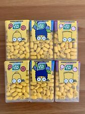 Lot of 6 New Limited Edition Simpsons Tic Tac Homer Marge Bart Donut Blueberry