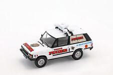 Range Rover publicité véhicule Pinder cirque blanc / rouge en cloque 1:43 Dire
