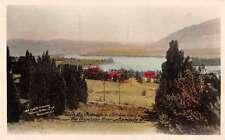 Kamloops British Columbia Canada Cariboo Trail Tinted Real Photo PC J64453